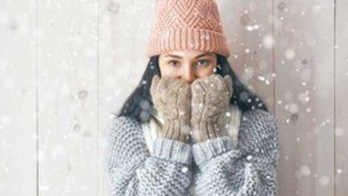 مراقبت از پوست در سرما