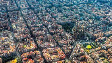 معماری زیبا بارسلون