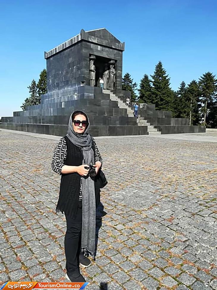 آرامگاه کووش کبیر در شهر سفید اروپا