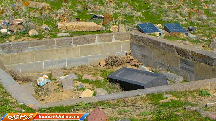 قبرستان عجیب در تبریز