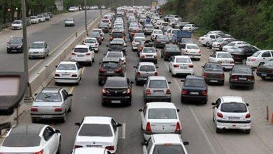 ترافیک در آزادراه تهران کرج