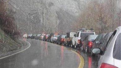 برف و باران در جادهها