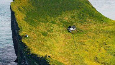 خانه ای در ایسلند