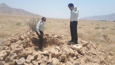 حفاری غیرمجاز در شهرستان لنده