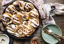 شیرینی دارچین و زنجبیل
