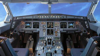 اتاقک خلبان و نمایی از بیرون
