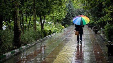 سامانه بارشی و رگبار