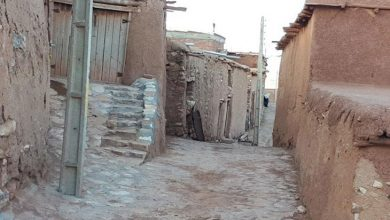 روستای پلکانی توتاخانه بناب