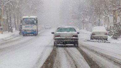 جادههای برفی