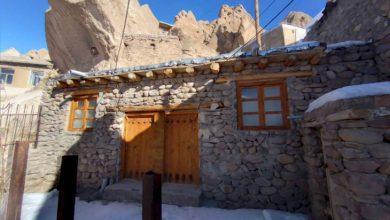 خانه سنگی در کندوان