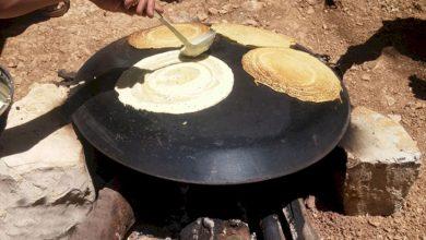 پخت نان کرمانشاه