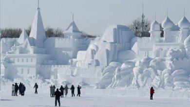 سازههای یخی در چین
