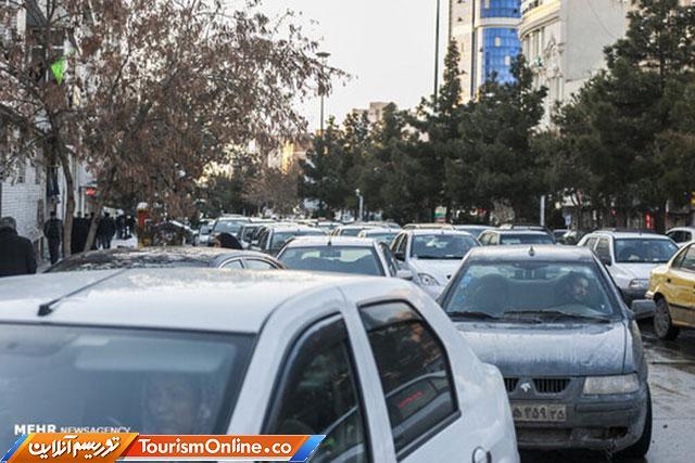 ترافیک در تهران