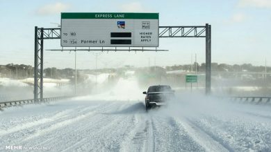 سرما و یخبندان تگزاس