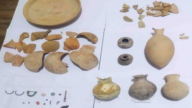 کشف و ضبط اشیای باستانی