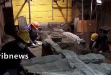 کشف کالسکه رم باستان
