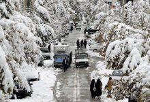 یک روز برفی در روستا