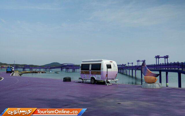 گردشگری در جزیره بنفش