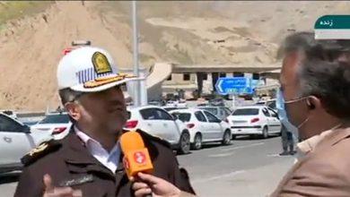 سردار حسینی جانشین رئیس پلیس راهور