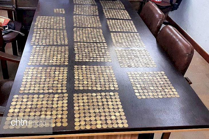 کشف سکه در کاشان