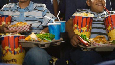 خوراکی در سینما