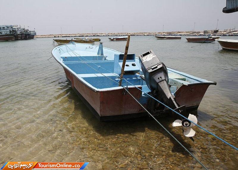 برخورد قایق در هندیجان