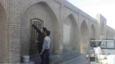 مرمت سی و سه پل اصفهان