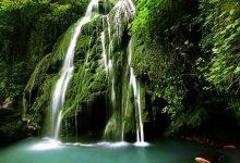 آبشار خزه ای کبودوال