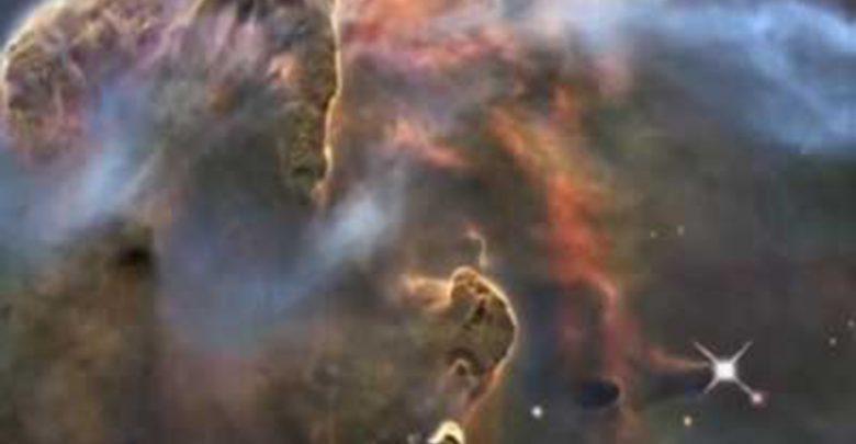 تصویر هابل از یک سحابی