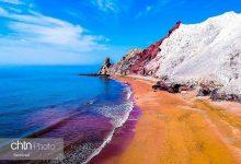 ساحل سرخ جزیره هرمز